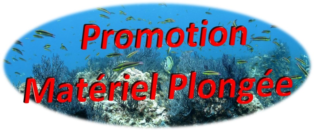 Promotion Matériel de plongée sous-marine